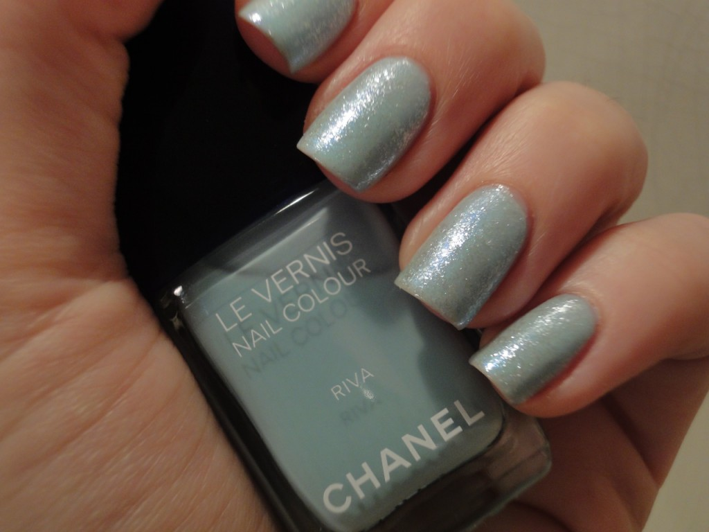 Chanel Riva with Orly Winter Wonderland