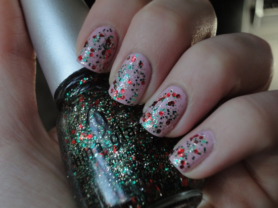 China Glaze Something Sweet with Party Hearty, shade
