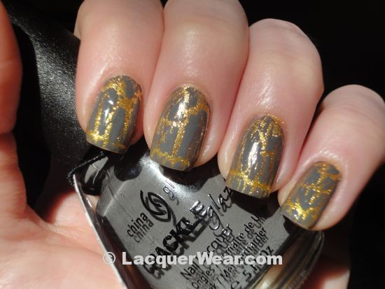 China Glaze Cracked Concrete over Lighthouse