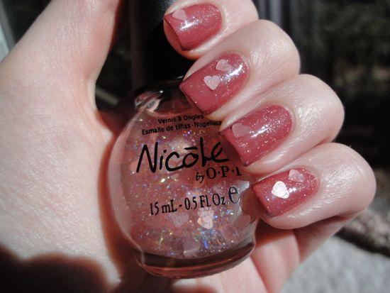 Essie In Stitches w/ Nicole OPI Love Your Life