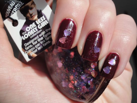 Zoya Stacy w/ OPI Step to the Beat of My Heart