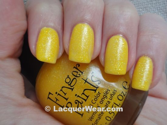 Chanel Mimosa, Fingerpaints Psychadelic Sunshine