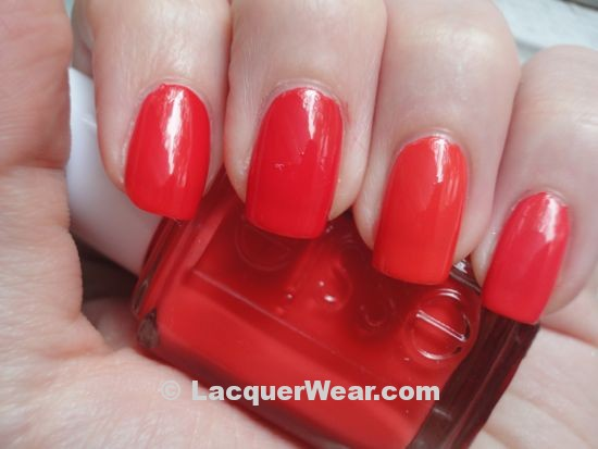 Essie Too Too Hot, Tangerine, Fingerpaints Give Pink a Chance