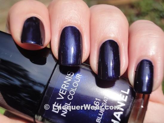 Dior Tuxedo, Chanel Blue Satin