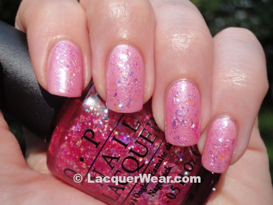 OPI Play the Peonies, I Lily Love You