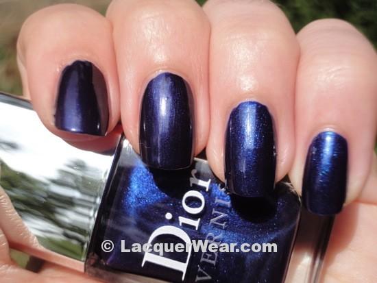 Dior Tuxedo, OPI Yoga-ta Get This Blue