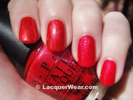 OPI Animal-istic, Love Is A Racket
