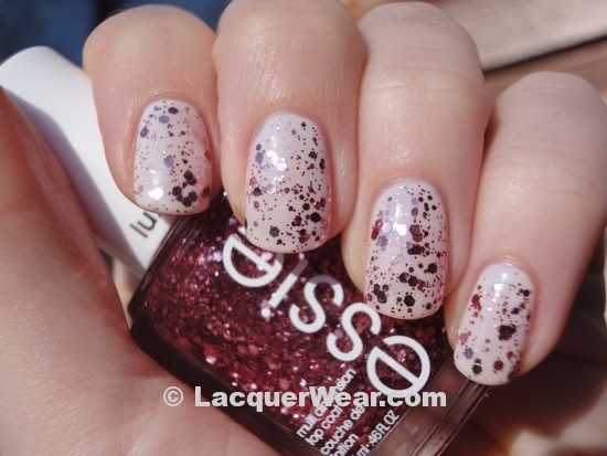 Essie Luxeffects – A Cut Above | LacquerWear Essie A Cut Above Alone