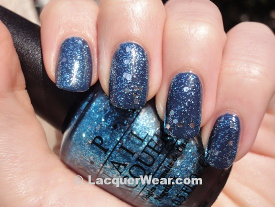 OPI Gone Gonzo, Chanel Blue Rebel