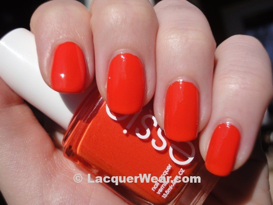 Essie Orange, It's Obvious!