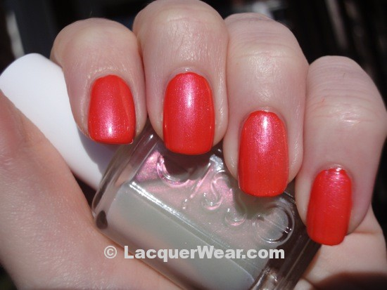 Essie Orange, It's Obvious!, Kisses and Bises