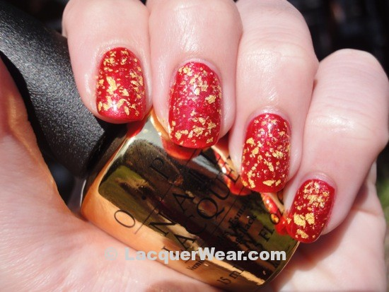 OPI Die Another Day, The Man With The Golden Gun