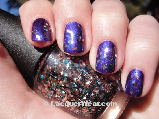 OPI Tomorrow Never Dies, The Living Daylights