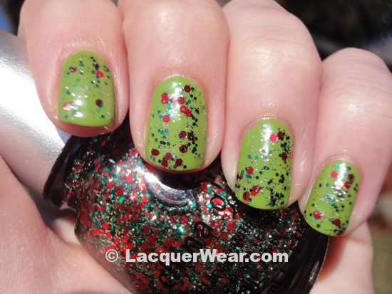 Dior Lime, China Glaze Party Hearty