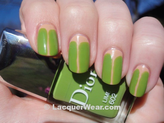Sally Hansen Malt w/ Dior Lime
