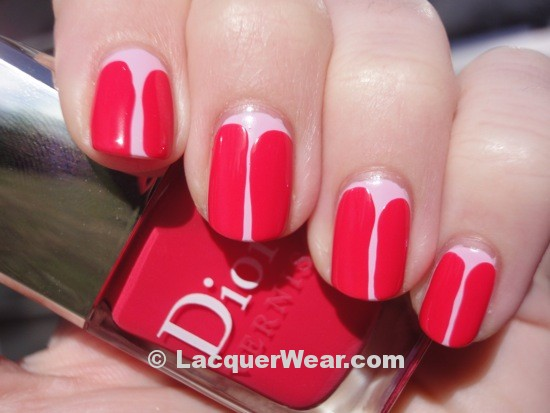 Essie French Affair, Dior Lucky