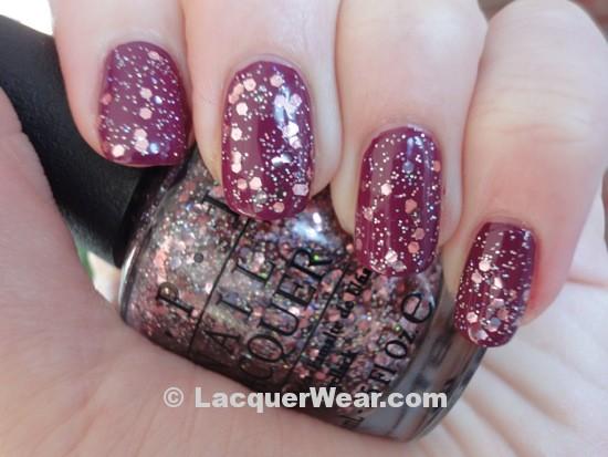 OPI Anti-Bleak w/ Pink Yet Lavender