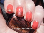 Sally Hansen Coral Fever, OPI Sprung