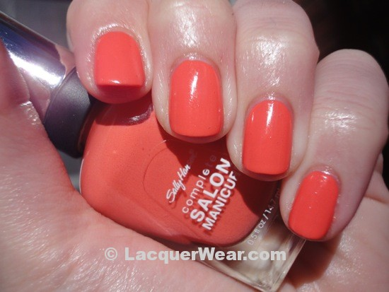 Sally Hansen Coral Fever